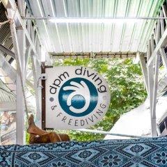 Отель Dpm Diving Hostel & Bar Koh Tao Таиланд, Мэй-Хаад-Бэй - отзывы, цены и фото номеров - забронировать отель Dpm Diving Hostel & Bar Koh Tao онлайн ванная