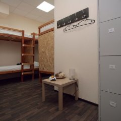 Kazan Hostel сейф в номере