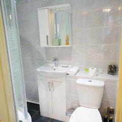 Апартаменты CDP Apartments Kelvinhall Глазго ванная
