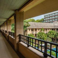 Апартаменты Plumeria Serviced Apartment Паттайя балкон