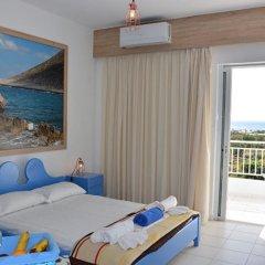 Апартаменты Blue Beach Villas Apartments комната для гостей фото 5