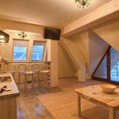 Отель VISITzakopane Eco Apartments Польша, Косцелиско - отзывы, цены и фото номеров - забронировать отель VISITzakopane Eco Apartments онлайн комната для гостей фото 5