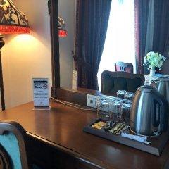 Отель SULTANHAN Стамбул удобства в номере фото 2