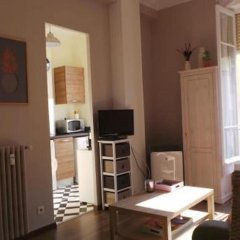 Апартаменты Sunny Studio Ницца комната для гостей фото 3