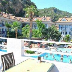 Akdeniz Beach Hotel Турция, Олюдениз - 1 отзыв об отеле, цены и фото номеров - забронировать отель Akdeniz Beach Hotel онлайн балкон