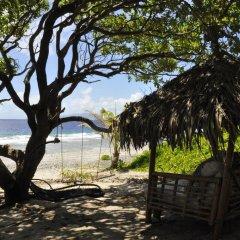 Отель Le Crusoe Французская Полинезия, Бора-Бора - отзывы, цены и фото номеров - забронировать отель Le Crusoe онлайн пляж фото 3