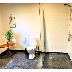 Hotel Gammel Havn Фредерисия ванная