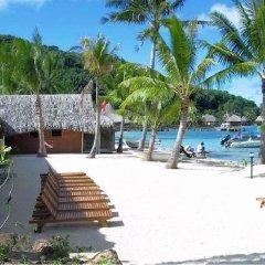 Отель Royal Bora Bora Французская Полинезия, Бора-Бора - отзывы, цены и фото номеров - забронировать отель Royal Bora Bora онлайн пляж фото 2