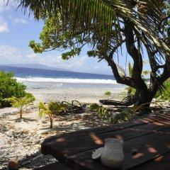Отель Le Crusoe Французская Полинезия, Бора-Бора - отзывы, цены и фото номеров - забронировать отель Le Crusoe онлайн пляж фото 4