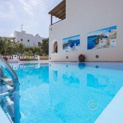Отель Villa Voula Греция, Остров Санторини - отзывы, цены и фото номеров - забронировать отель Villa Voula онлайн бассейн