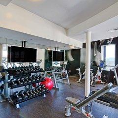 Отель Wilshire La Brea США, Лос-Анджелес - отзывы, цены и фото номеров - забронировать отель Wilshire La Brea онлайн фитнесс-зал