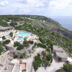 Отель Scogliera del Gabbiano Италия, Гальяно дель Капо - отзывы, цены и фото номеров - забронировать отель Scogliera del Gabbiano онлайн пляж фото 2