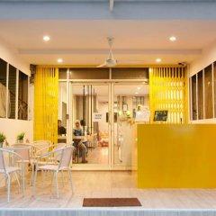 Yellow Mango Hostel Бангкок интерьер отеля