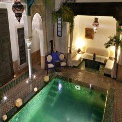 Отель Riad Farnatchi Марокко, Марракеш - отзывы, цены и фото номеров - забронировать отель Riad Farnatchi онлайн бассейн фото 2