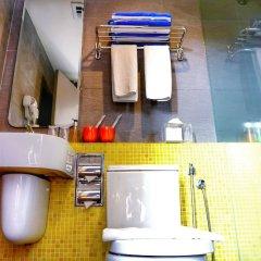 Отель GLOW Penang Малайзия, Пенанг - 1 отзыв об отеле, цены и фото номеров - забронировать отель GLOW Penang онлайн ванная