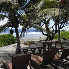 Отель Le Crusoe Французская Полинезия, Бора-Бора - отзывы, цены и фото номеров - забронировать отель Le Crusoe онлайн пляж фото 2