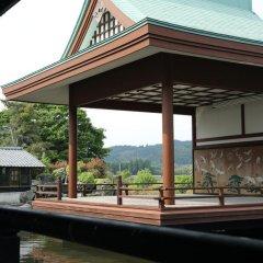 Отель Ryokan Minawa Минамиогуни приотельная территория