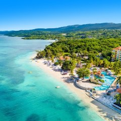 Отель Jewel Dunn's River Beach Resort & Spa, Curio Collection by Hilton пляж фото 2