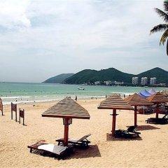 Sanya South China Hotel пляж фото 2