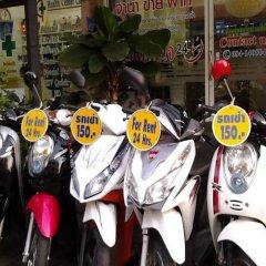 Отель AT. Center Guesthouse and Motorbike Pattaya спортивное сооружение