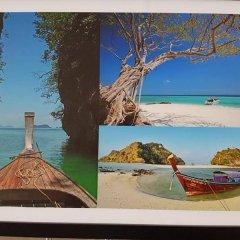 Отель Ban Punmanus Guesthouse Таиланд, Краби - отзывы, цены и фото номеров - забронировать отель Ban Punmanus Guesthouse онлайн пляж фото 2