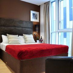 Апартаменты Olive Níké Apartments комната для гостей