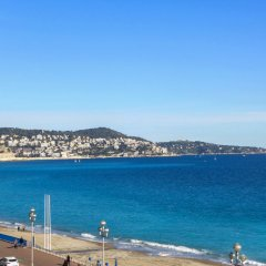 Отель La Floride Promenade des Anglais Франция, Ницца - отзывы, цены и фото номеров - забронировать отель La Floride Promenade des Anglais онлайн пляж