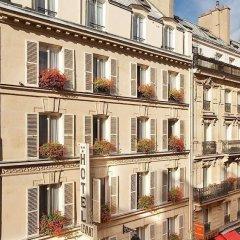 Hotel Du Levant Париж вид на фасад