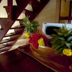 Отель Fare Edith Французская Полинезия, Муреа - отзывы, цены и фото номеров - забронировать отель Fare Edith онлайн удобства в номере фото 2