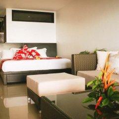 Отель Garden Island Resort Фиджи, Остров Тавеуни - отзывы, цены и фото номеров - забронировать отель Garden Island Resort онлайн комната для гостей фото 2