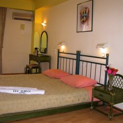 Отель Les Amis Греция, Вари-Вула-Вулиагмени - отзывы, цены и фото номеров - забронировать отель Les Amis онлайн комната для гостей фото 3