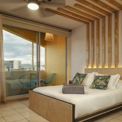 Отель Mayan Monkey Los Cabos - Hostel - Adults Only Мексика, Золотая зона Марина - отзывы, цены и фото номеров - забронировать отель Mayan Monkey Los Cabos - Hostel - Adults Only онлайн комната для гостей