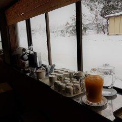 Отель Resort Inn White Silver Хакуба питание