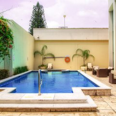 Отель Holiday Inn Express San Pedro Sula бассейн фото 3