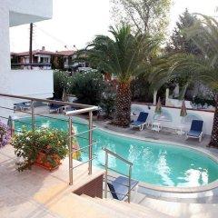 Отель Golden Sun Village Греция, Пефкохори - отзывы, цены и фото номеров - забронировать отель Golden Sun Village онлайн бассейн фото 2