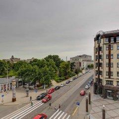 Отель Liberty Mansard Латвия, Рига - отзывы, цены и фото номеров - забронировать отель Liberty Mansard онлайн балкон