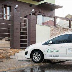 Экологический отель Villa Pinia городской автобус