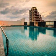 Отель C-View Residence Паттайя бассейн фото 3