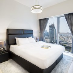 Отель Nasma Luxury Stays - Central Park Tower комната для гостей