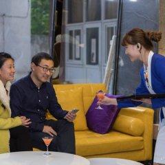 Отель Zmax Chengdu Chunxi Road гостиничный бар