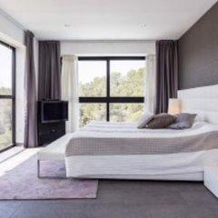 Отель Architecture Villa In Sitges Hills Оливелла комната для гостей фото 4