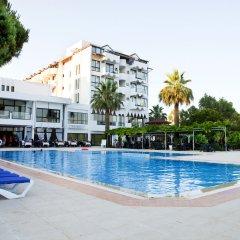 Diamond Sea Hotel Турция, Сиде - отзывы, цены и фото номеров - забронировать отель Diamond Sea Hotel онлайн бассейн