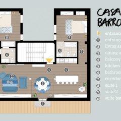 Отель Casa da Barroca: spacious A-location designer loft интерьер отеля