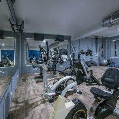 Отель Stalis Blue Sea Front Deluxe Rooms фитнесс-зал фото 2