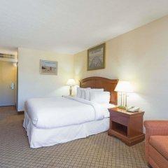 Отель Days Inn Columbus Airport США, Колумбус - отзывы, цены и фото номеров - забронировать отель Days Inn Columbus Airport онлайн комната для гостей фото 4