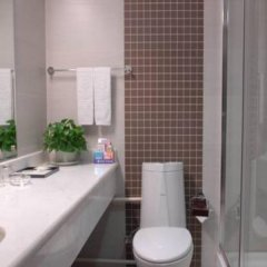 Отель Super 8 Xian Big Wild Goose Pagoda ванная фото 2