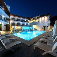 Rhapsody Hotel & Spa Kalkan Турция, Калкан - отзывы, цены и фото номеров - забронировать отель Rhapsody Hotel & Spa Kalkan онлайн бассейн фото 2