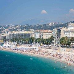 Отель Mercure Nice Centre Grimaldi Франция, Ницца - 5 отзывов об отеле, цены и фото номеров - забронировать отель Mercure Nice Centre Grimaldi онлайн пляж