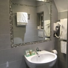Hotel Helvetia Генуя ванная фото 2
