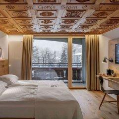 Отель Swiss Alpine Hotel Allalin Швейцария, Церматт - отзывы, цены и фото номеров - забронировать отель Swiss Alpine Hotel Allalin онлайн комната для гостей фото 3